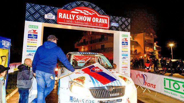 Rally Show Orava 2017