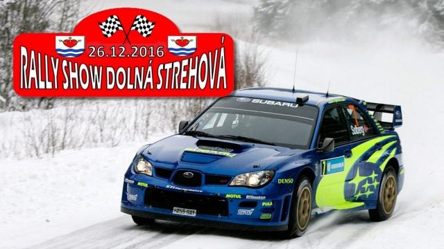 Rally Show Dolná Strehová 2016
